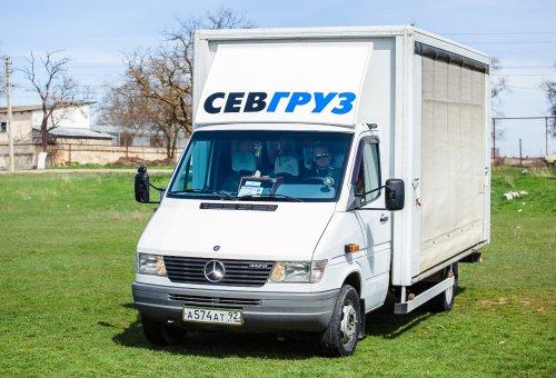Доставка грузов на Мерседесе «Sprinter 412»