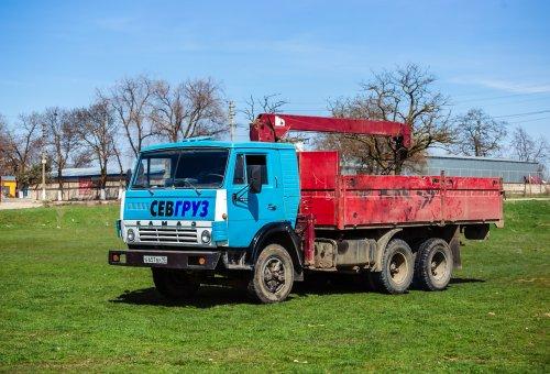 Доставка грузов на Камазе с «манипулятором»