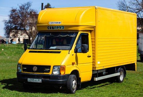 Перевозка грузов на Volkswagen LT 46 «Гидроборт»
